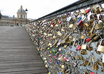 attach padlock on the Pont des Arts in Paris small2