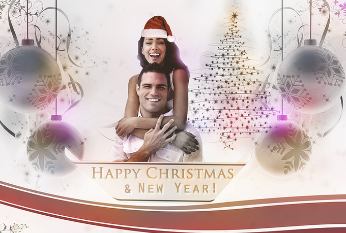 create you a XMas card with your own photo and text