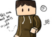 make anyone into a blocky Minecraft style cartoon figure small2