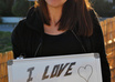 take nice PHOTOS holding a white board handritten sign/printed paper of your website, business, message or anything, in less than 24 hours small2