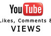 provide 250 views, 50 likes and 10 comments on your Youtube video small2
