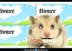 create an animated Greeting, Advertisement Message by Hannah, Harry the Hamster small2