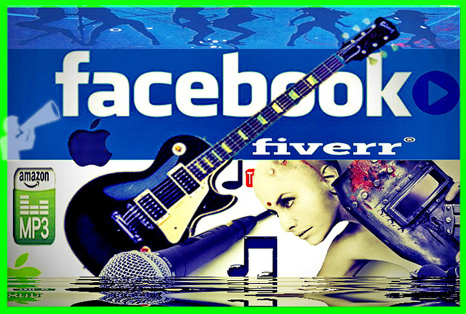 promote  your MUSIC 750000  face book music  fans  and 50000 twitter members