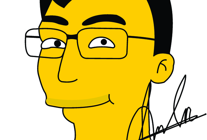 Cartoon Characters You Can Draw : Draw you as a simpson cartoon character fiverr