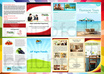 design  brochure flyer postcard rackcard Or Catalog any 1 design A5 size 1 side small2