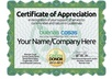 Certificate.of.appreciation.2013.greendonor.yournamecompanyhere.600x370