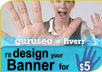 make animated or static promotional banner in any size and in gif, jpeg or png file type small2
