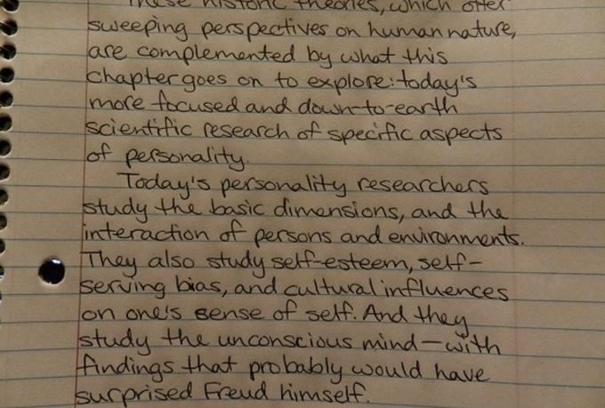 Writing cursive in essays