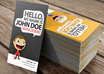 delivers PrintReady Business Card that Can be Personalized by You and have an Changeable Character on it small3