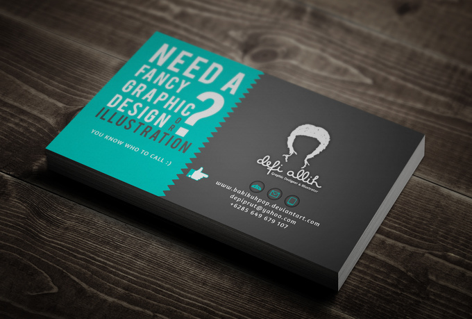 design your own fancy business card fiverr