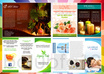 design  brochure flyer postcard rackcard Or Catalog any 1 design A5 size 1 side small3