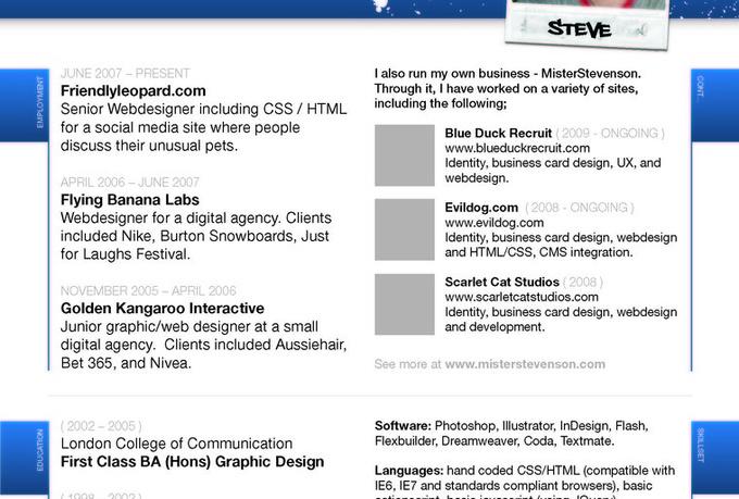 design great creative resume or cv fiverr