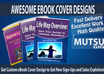 create professional ebook cover design