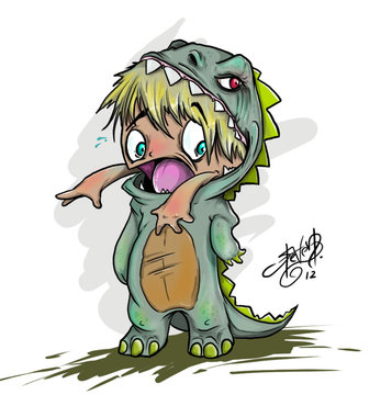 Lizard Boy jpg 1349427836Cute Lizard Drawing
