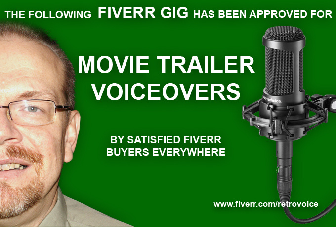 record a movie trailer style voiceover up to 60 seconds