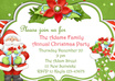send you 3 beautiful Christmas party invitation card