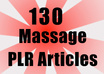 send you 130 Massage PLR articles that you can use in  your website
