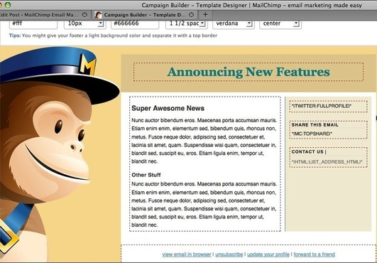 create one email template for your mailchimp account fiverr