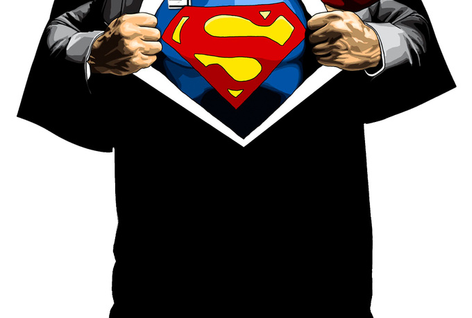 design You an Attractive Superman T SHIRT