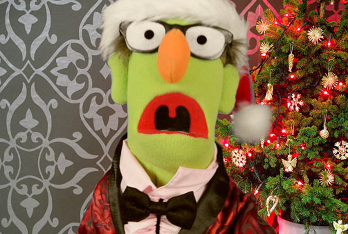 have Harold the Puppet create a custom holiday video