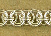 teach you how to make a chainmaille bracelet with the Helms weave