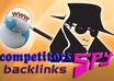 spy, STEAL and analyze the backlinks from 3 of your competitors so you can add the same links and boost your Rankings