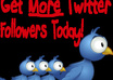 give 500+ Real and Permanent TWITTER follower only