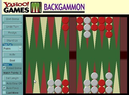 backgammon yahoo
