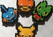 make a perler bead Pokémon figure