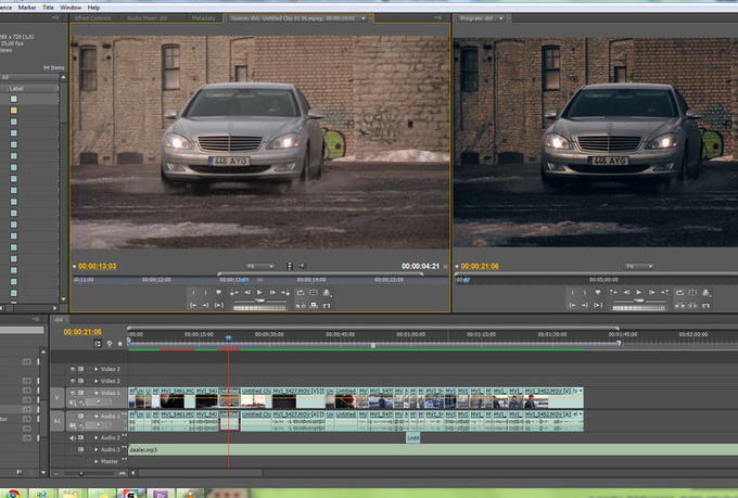 color grade your video