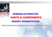 send you my own German Automotive Parts and Components  Market Research Report of 65 pages