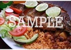 take a professional photograph of a Spanish or Mexican dish for your restaurant MENUS