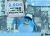add 2,000 followers on Twitter in your profile with free day 50 followers to be positioned