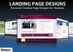 design Landing Page or Squeeze Page for Maximum Conversion