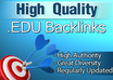 create 50 edu and gov links to your website