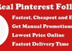 add Real 400+ Pinterest Followers without admin access within 48 hours small1