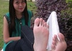 send you 25 pictures of me and my asian female friends feet