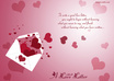 write the most touching love letter or message to your loved ones