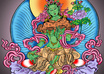 pray to Green Tara to fulfill your desire or to help you