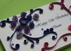 make a handmade quilled greeting card for your friends or loved one