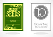 design a Beautiful Custom SEED Packet for You