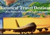 make you an article or review about historic travelling and then posted on my site just
