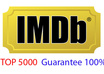 rocket your IMDB Rank [Guarantee Top 5000] Moviemeter/startmeter and imdb profile/page providing Unlimited unique visitors within 24hours
