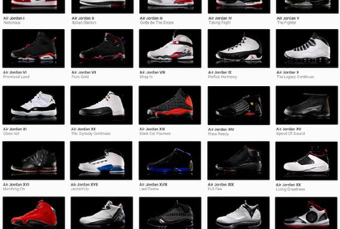 List Of All Air Jordan Sneakers