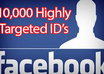 10,000 Highly targeted Facebook IDs Leads small1