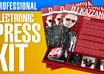 create an amazing professional Press Kit / EPK