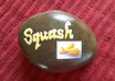paint a SQUASH Vegetable Garden Rock Marker for you
