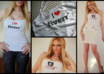 print your logo, picture or other on a sexy real top and will model with it