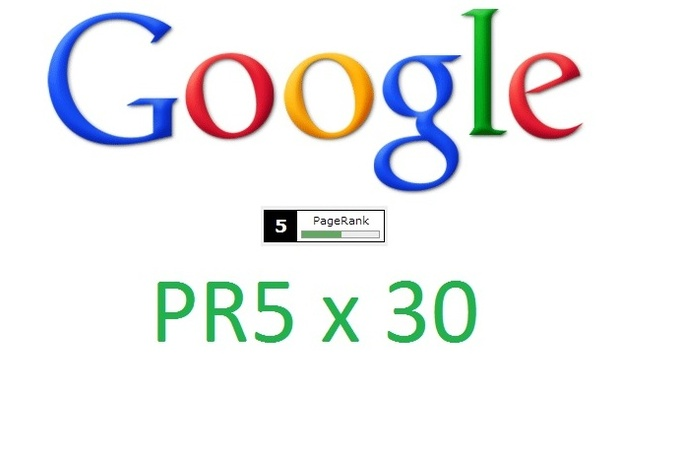 get your website 30 PR5 Backlinks