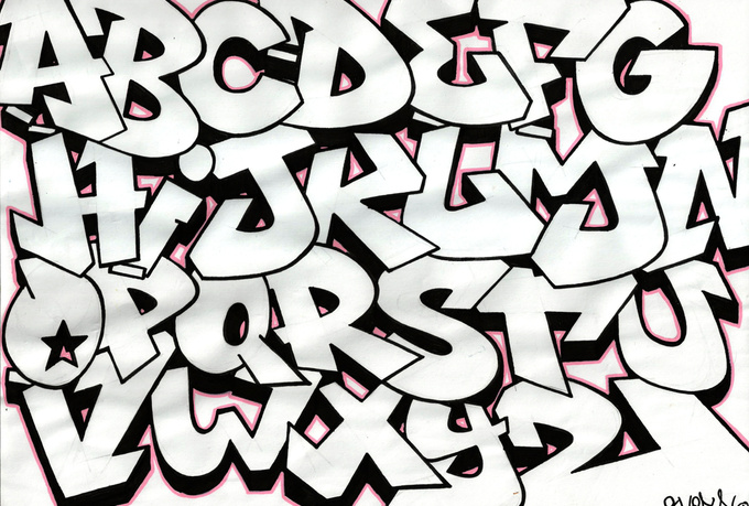 design your own name in Graffiti style - fiverr